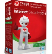 Bán trendMicro internet security 2014 1PC