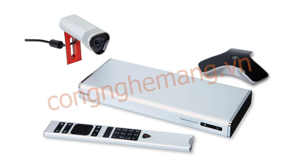 Bán phân phối thiết bị hội nghị truyền hình Polycom Group 300-720p