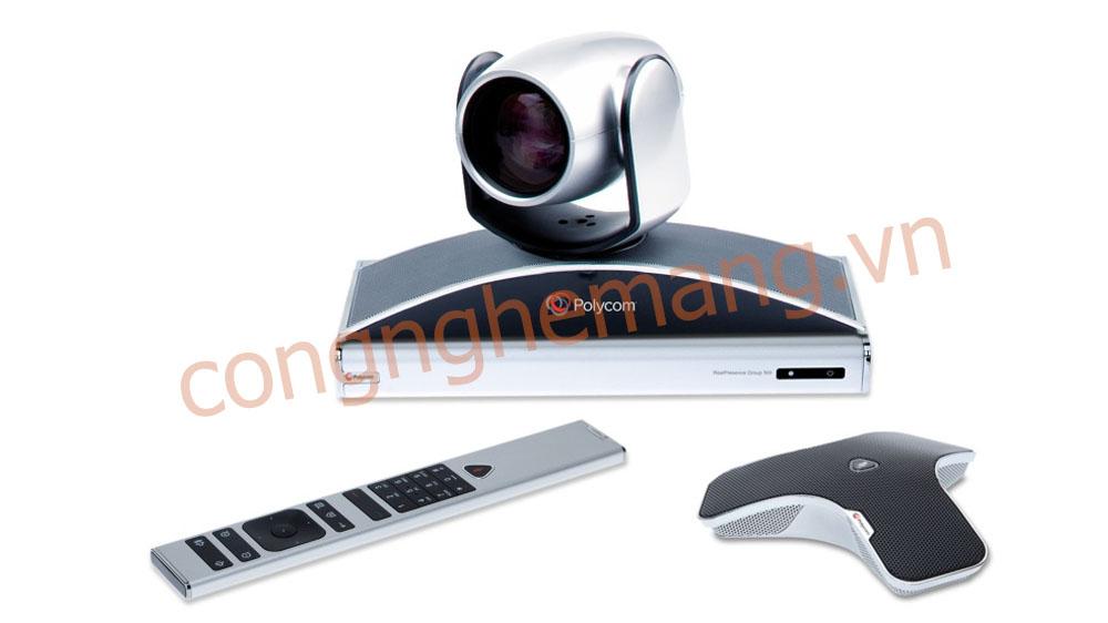 Bán phân phối thiết bị hội nghị truyền hình Polycom Group 500-720p
