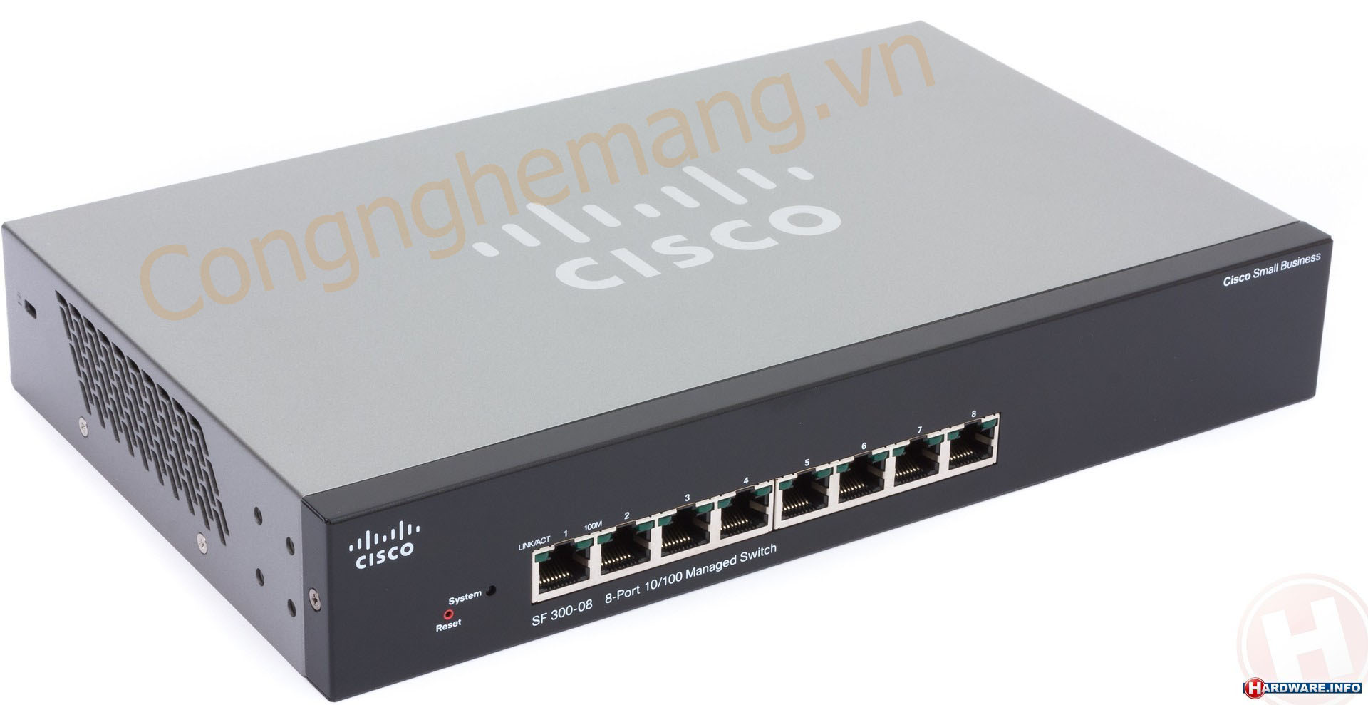 Bán phân phối Switch Cisco small SRW208-K9-EU (SF300-08)